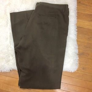Tommy Bahama Pants Size 36XUFN Brown Flat Front